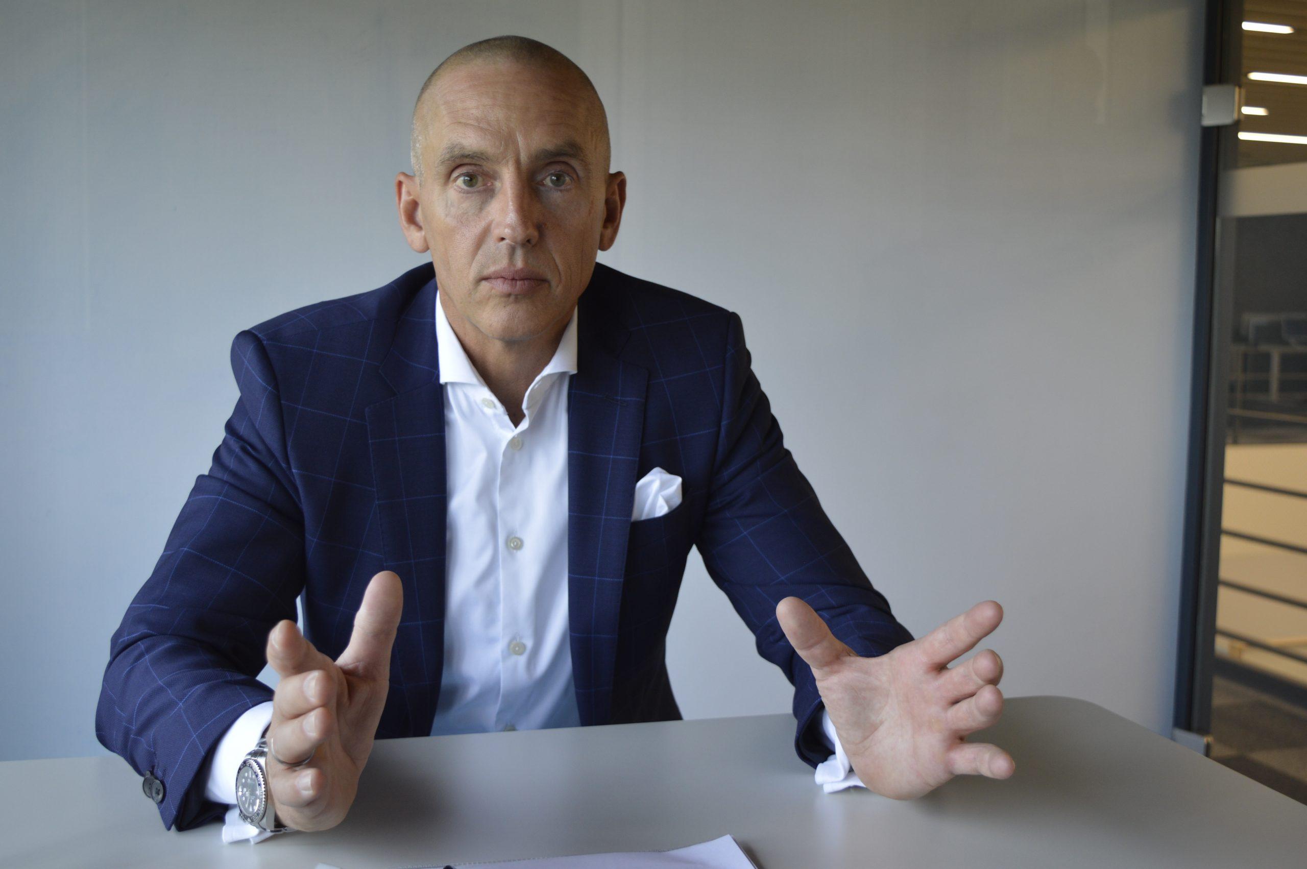 Steffen Winkler, Vertriebsleiter der Business Unit Automation & Electrification Solutions bei Bosch Rexroth (Bild: Bosch Rexroth AG)
