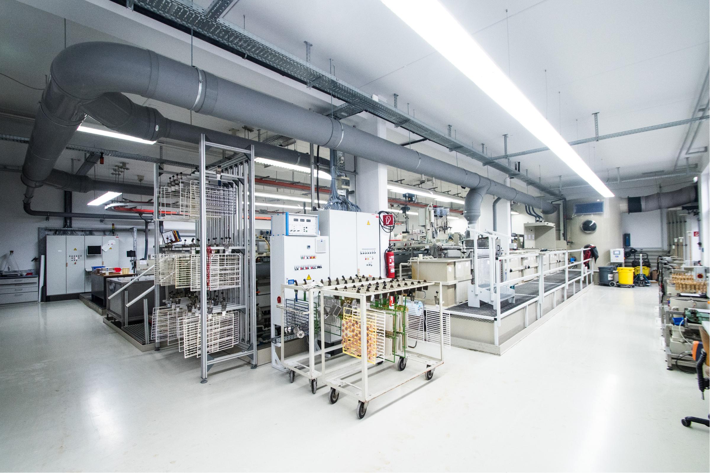 Metallveredelung und Lohngalvanik (Bild: Jentner Plating Technology GmbH)