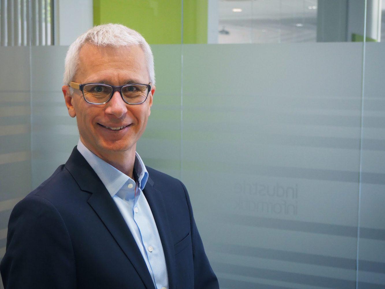 Bernhard Falkner, Geschäftsführer bei Industrie Informatik (Bild: Industrie Informatik GmbH)