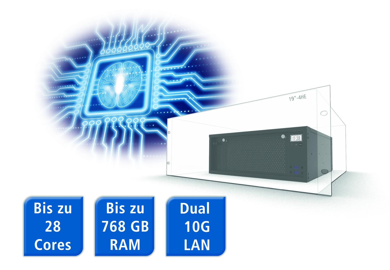 Die Embedded Server lassen sich bezüglich ihrer Prozessor-Ausbaustufe und anderen Erweiterungen flexibel anpassen. (Bild: Spectra GmbH & Co. KG)