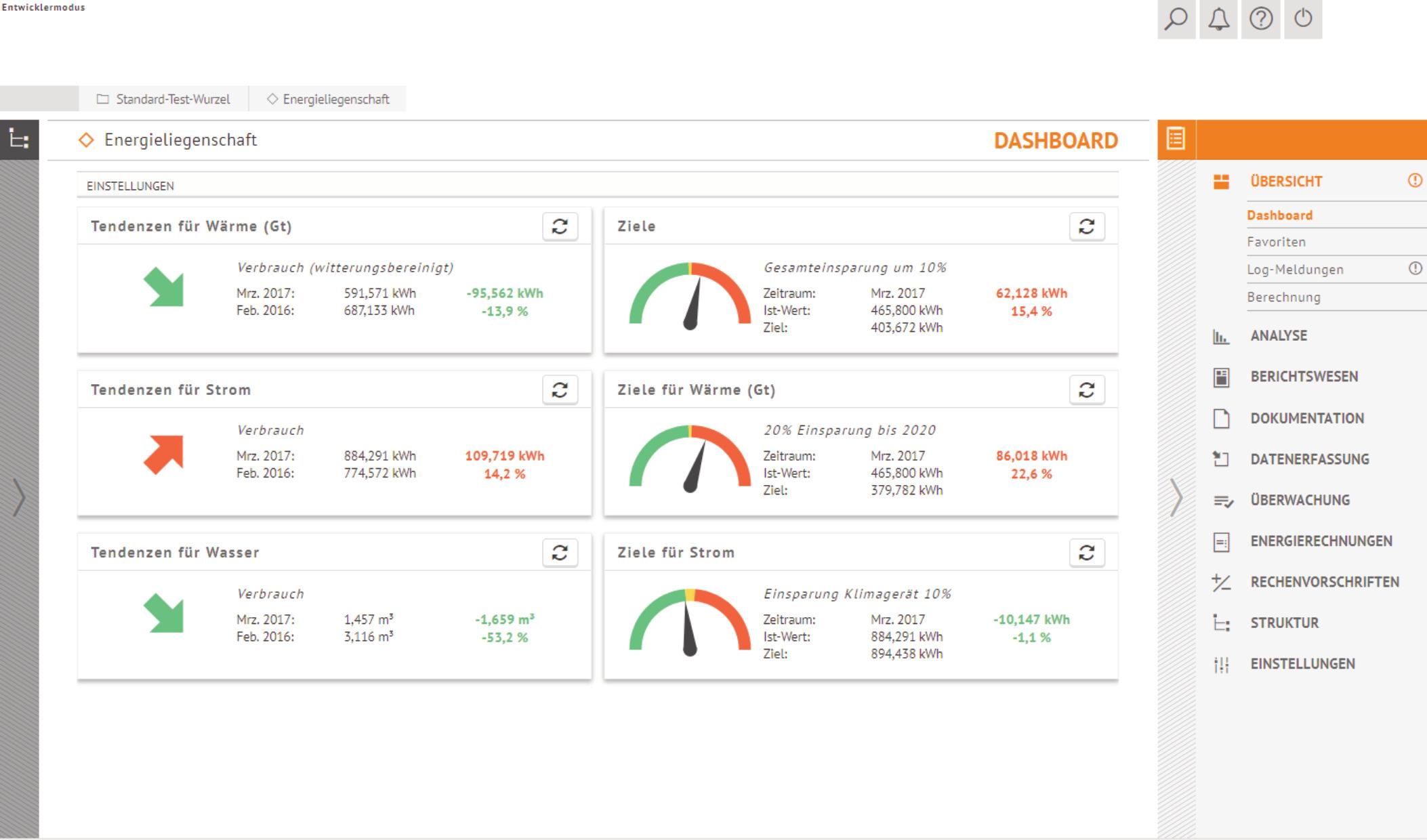 Die Anwendung ist darauf ausgelegt, Informationen für verschiedene Zielgruppen anschaulich darzustellen. (Bild: IngSoft GmbH)