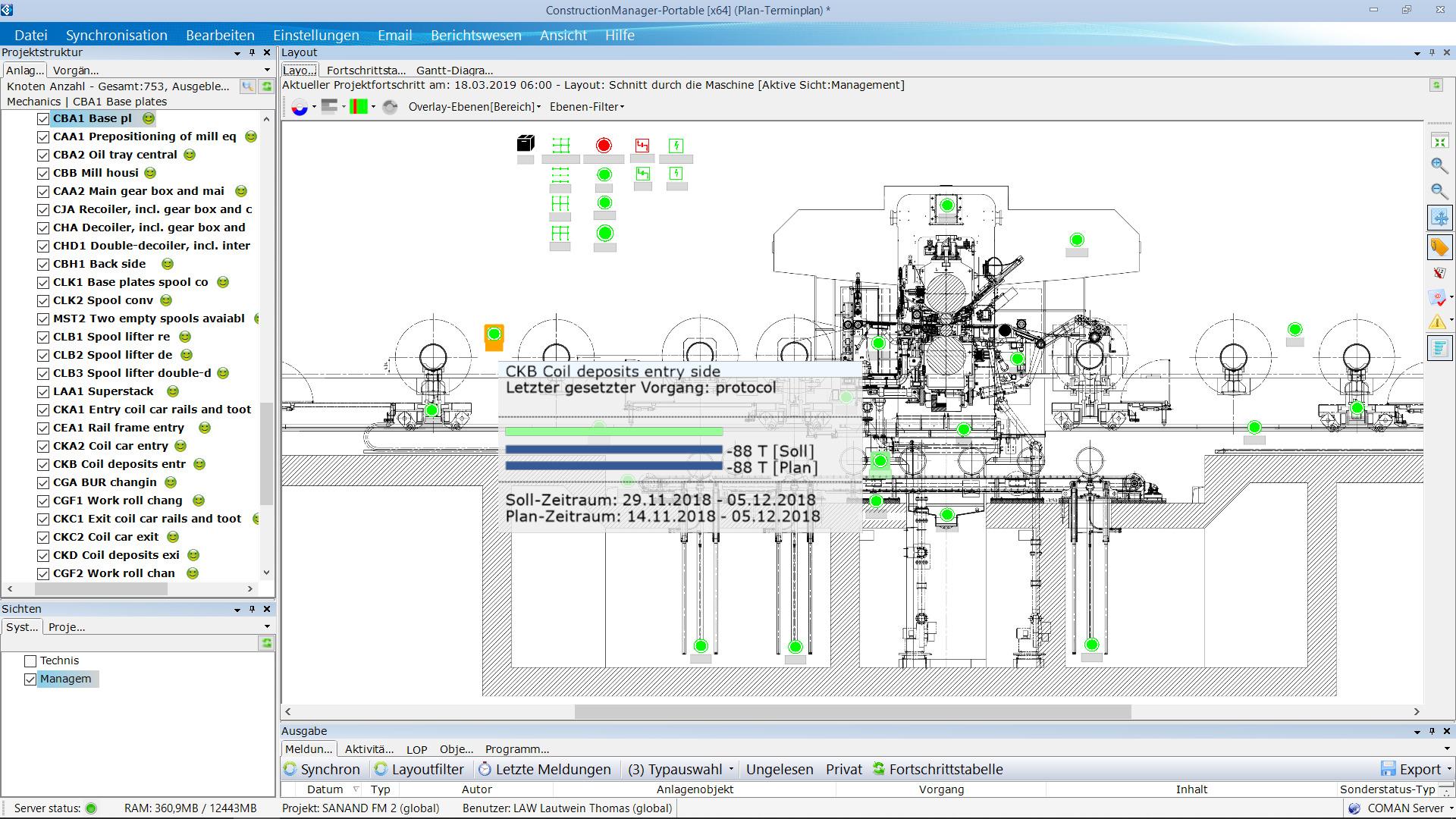 65 Angestellte von Achenbach Buschhütten arbeiten mit der Prozessmanagement-Software Coman. (Bild: Coman Software GmbH)