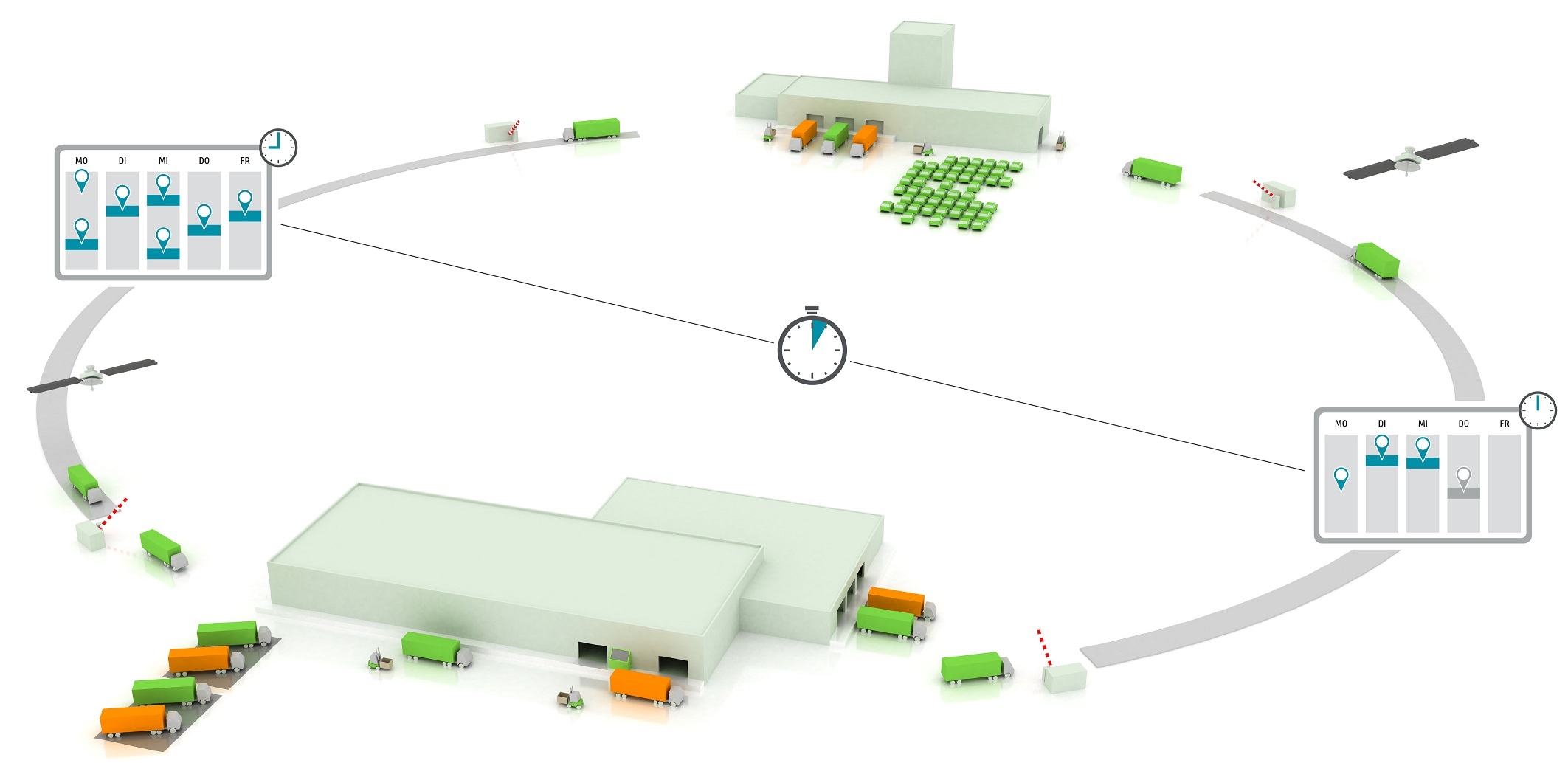 Liefernachweise und Schadensberichte können per App erfasst und weiterverarbeitet werden. (Bild: Inform GmbH)
