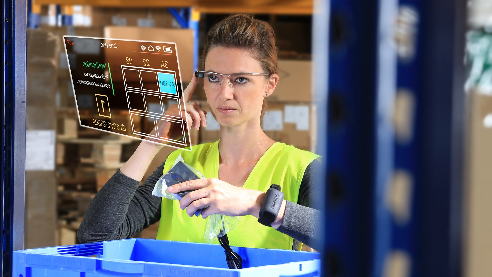 FastTrack Order Picking vereinfacht so eine schnelle Skalierung. (Bild: Ubimax GmbH)