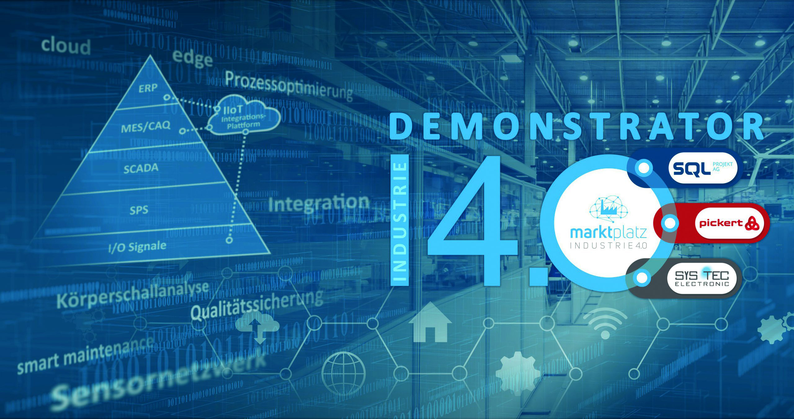Innerhalb eines Gemeinschaftsprojekts des Marktplatz Industrie 4.0 entwickelten die Unternehmen SQL Projekt, Pickert & Partner und Sys Tec Electronic eine Industrie-4.0-Lösung als Retrofit für Bestandmaschinen. (Bild: Marktplatz Industrie 4.0 e.V.)