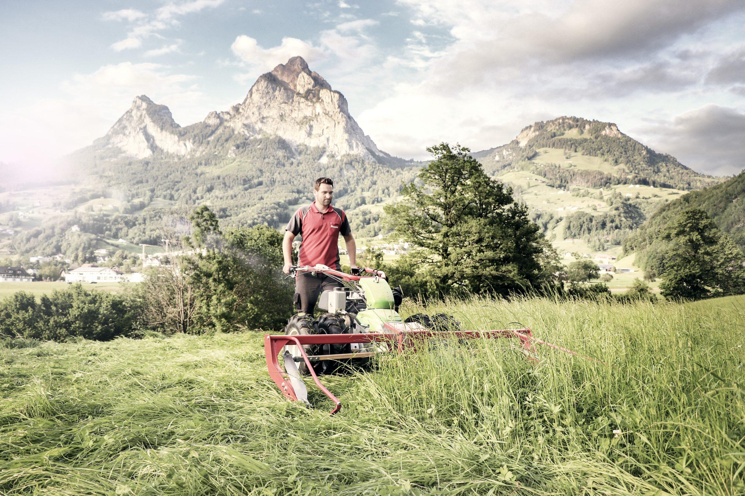 Seit Firmengründung hat Rapid Technic das Portfolio kontinuierlich erweitert. Ein Fokus auf die Arbeit in den Bergen bleibt. (Bild: Rapid Technic AG)