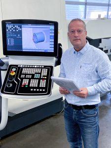 Produktionsleiter Rob Wijtenburg ist dafür verantwortlich, dass die Fertigungskapazitäten gedeckt werden. (Bild: DMG MORI Global Marketing GmbH)