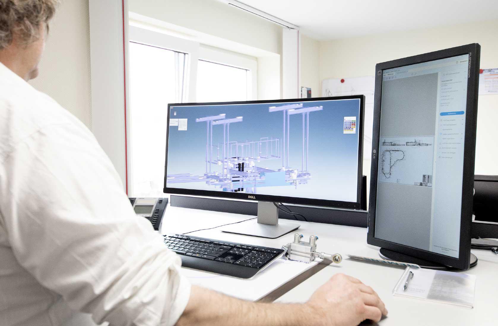 Für die Fabrikplanung bietet der Markt verschiedene leistungsfähige CAD-Programme. (Bild: SEH Engineering GmbH)