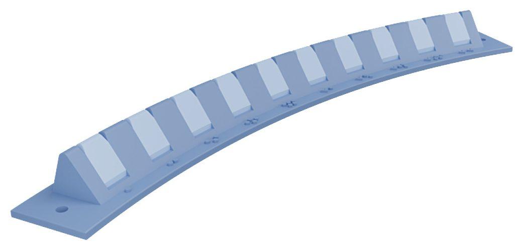 Dieses Instrument, normalerweise aus den USA importiert und jetzt Mangelware, wird bei Herzoperationen zur Führung des Fadens in chirurgische Nähte verwendet. (Bild: Covid3D.org)
