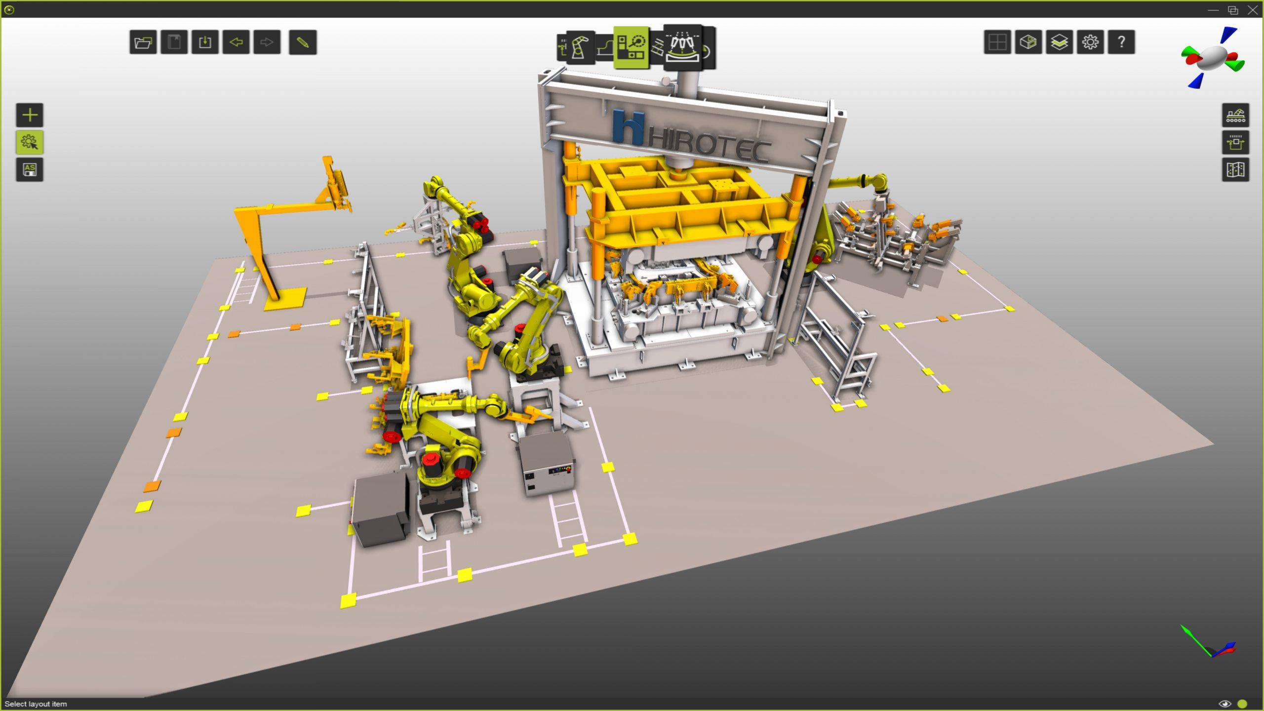 Virtuelle Fertigungstools im Einsatz bei Systemintegratoren von 3D-Layout- und Simulationstools bis hin zu virtueller Inbetriebnahme (Bild: Cenit AG)