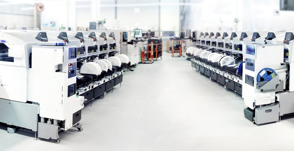 Die Smart Electronic Factory bei Limtronik (Bild: SEF Smart Electronic Factory e.V.)