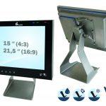 Edelstahl-Touch-PCs modular ausstatten