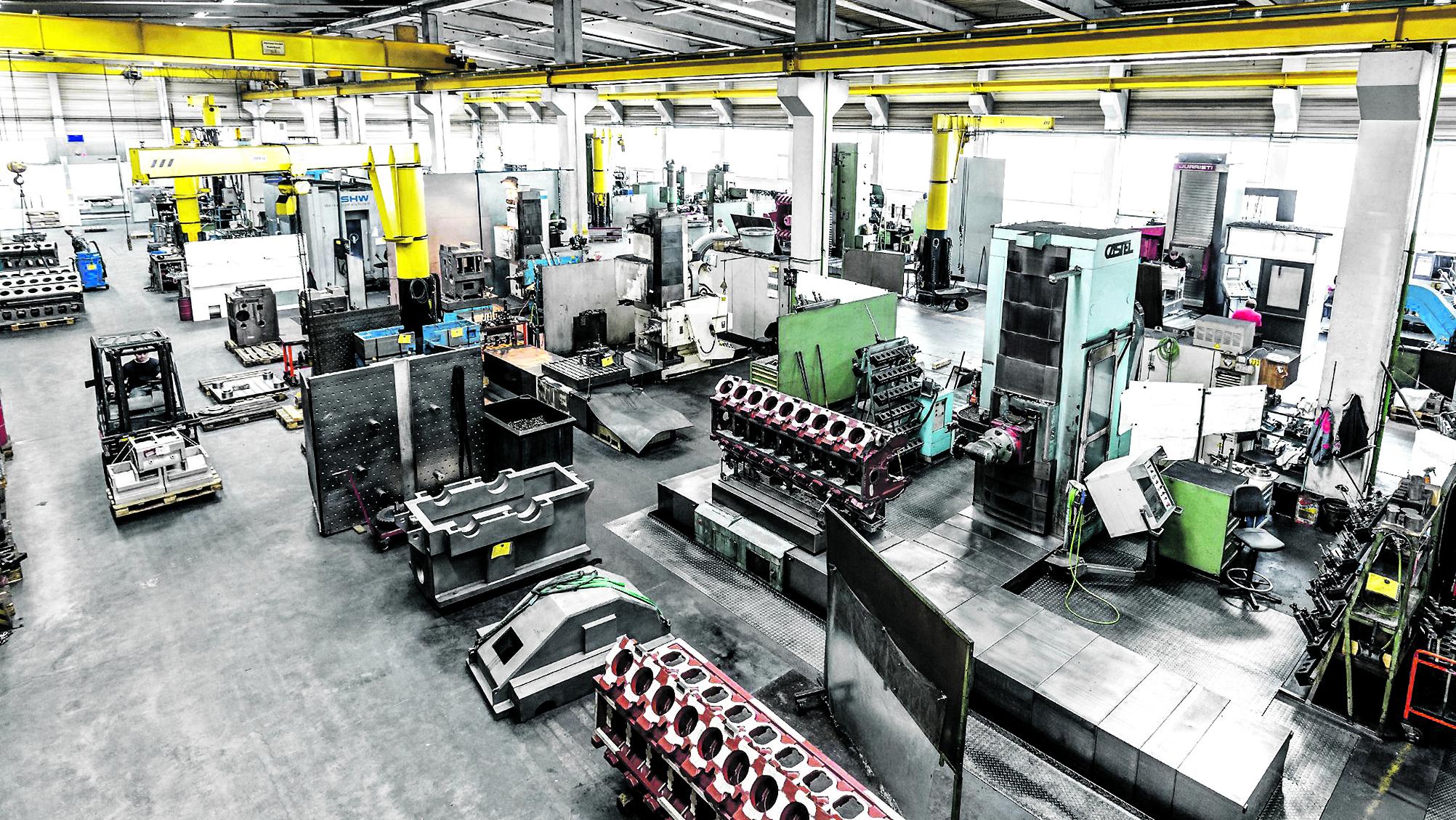 Die Zaigler Maschinenbau GmbH wurde 1954 gegründet und hat sich auf die Auftragsfertigung und Großteile-Zerspanung für Industriezweige wie die Druckindustrie, die Kunststoffverarbeitung, Energieerzeuger und den Maschinenbauallgemein spezialisiert. (Bild: Coscom Computer GmbH)