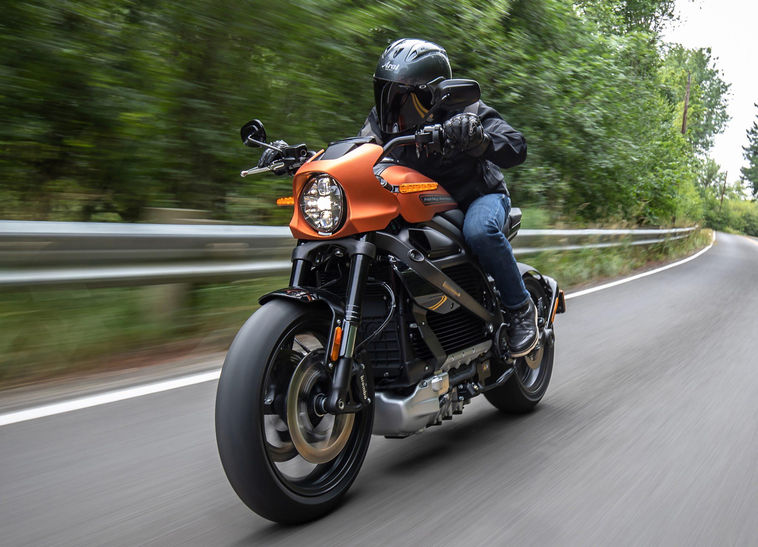 Die erste komplett elektrisch angetriebene Harley-Davidson. Dahinter steht eine Internet of Things-Infrastruktur, die zahlreiche digitale Dienste und Optimierungsmöglichkeiten bietet. (Bild: Harley-Davidson Germany GmbH)