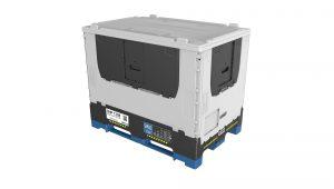... individualisierbare Mehrwegbehälter mit IoT-Funktionalität (Bild: Schreiner Group GmbH & Co. KG)