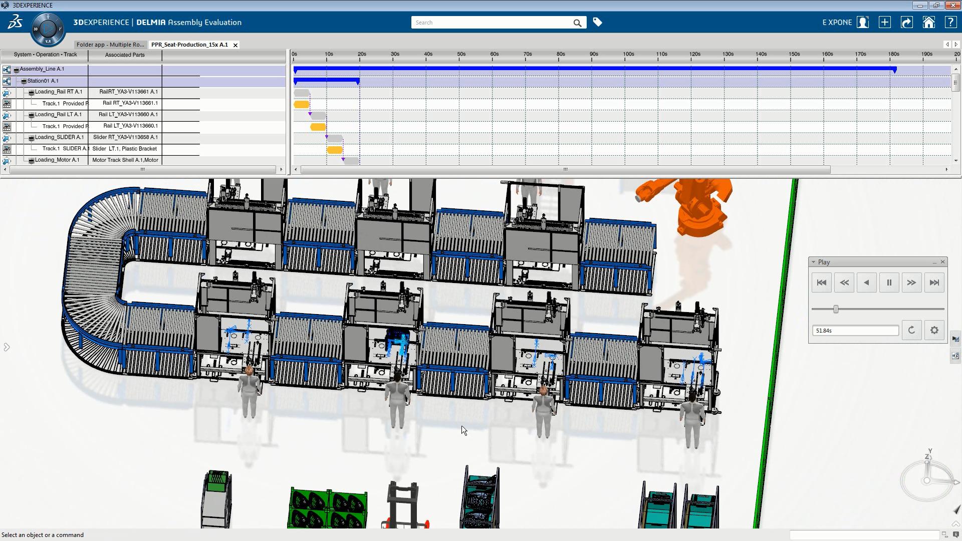 Die Simulationssoftware Delmia von Dassault Systèmes (Bild: Dassault Systemes Deutschland GmbH)