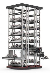 Eine reale Multi-Handling-Anlage (Bild: Sema Maschinenbau GmbH)