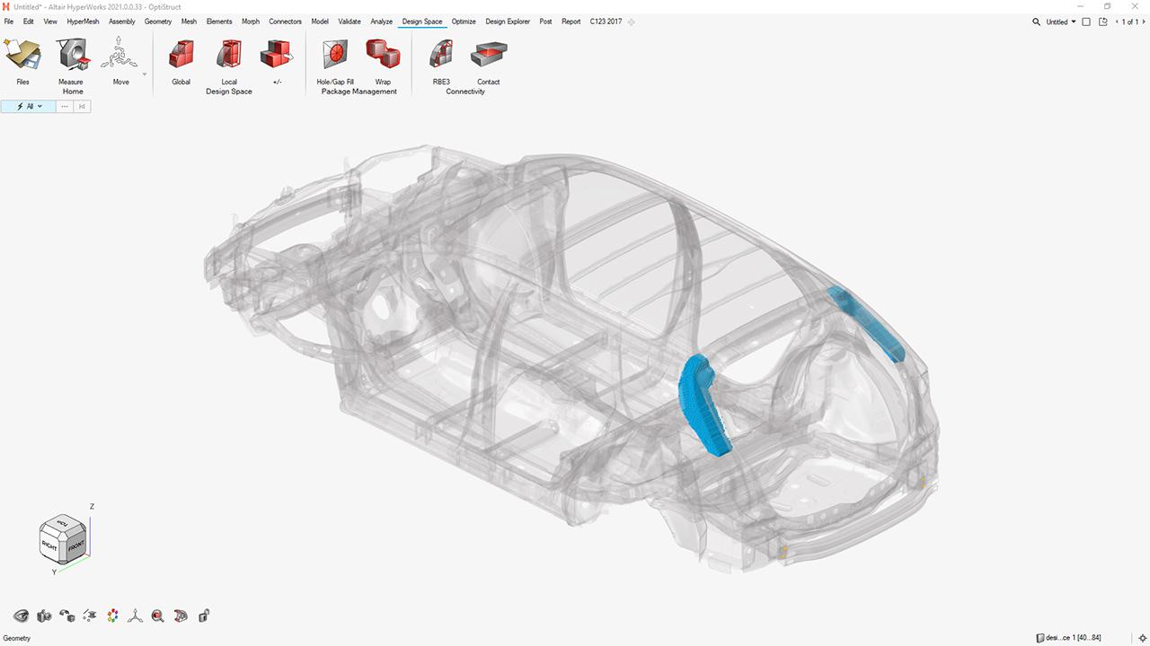 Erweiterte Workflows im Altair-System sollen Analysen von strukturellen Spannungen, Schwingungen und Thermik erleichtern. (Bild: Altair Engineering GmbH)