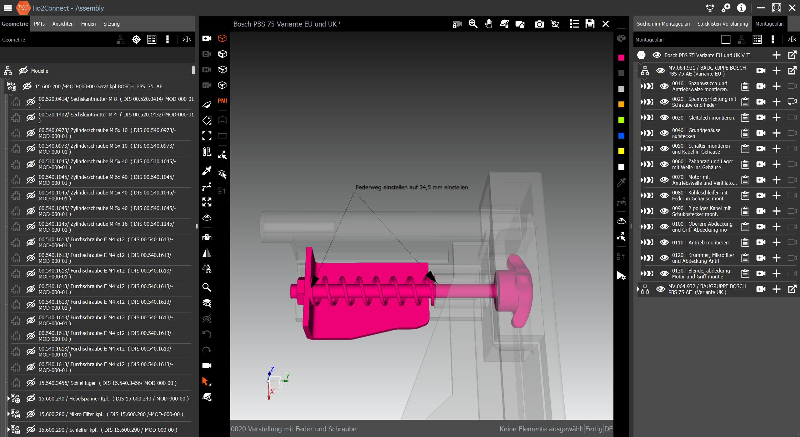 Jederzeit besteht die Möglichkeit, Planungen am 3D-Modell visuell abzugleichen. (Bild: Attenio GmbH)