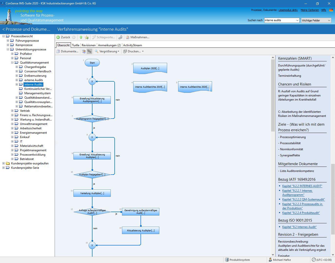 Mit ihrer QM-Software spart KSK viel Zeit bei der Umsetzung von Anforderungen wie DIN EN ISO 9001 und IATF 16949. (Bild: KSK Industrielackierungen)