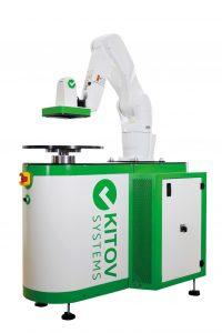 Der Kitov One hat das Potenzial, Inspektionsaufgaben selbstständig zu lösen. Dabei lässt sich der flexible Roboter an das dynamische Umfeld einer Produktion anpassen – nicht nur in der Elektronikproduktion. (Bild: ATEcare Service GmbH & Co. KG)