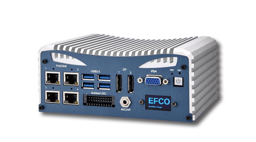 Hardware-Grundlage der Lösung sind langzeitverfügbare Industrie-Rechner von EFCO. (Bild: EFCO Electronics GmbH)