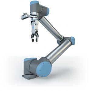 Vision-Systeme wie Eyes von OnRobot können Werkstücke anhand ihrer Form und Farbe identifizieren und ermöglichen es dem Roboter so, diese präziser zu greifen. (Bild: OnRobot A/S)