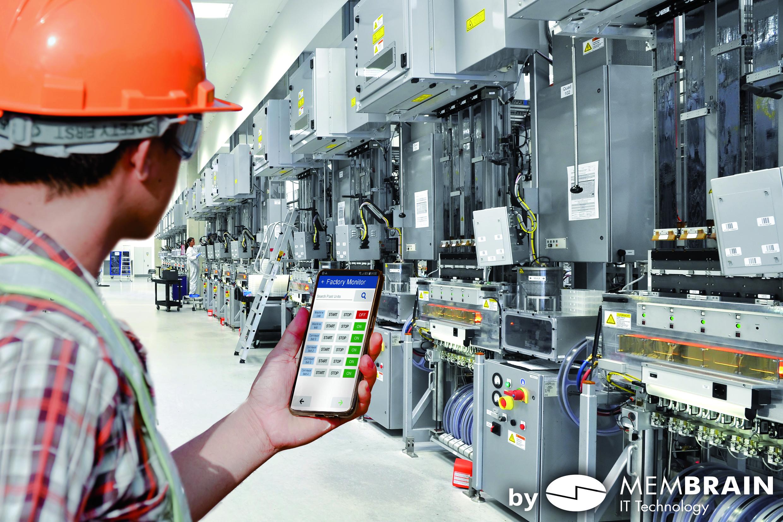 Mit Push-Meldungen lassen sich Mitarbeiter schnell über unplanmäßige Ereignisse informieren. (Bild: Membrain GmbH)