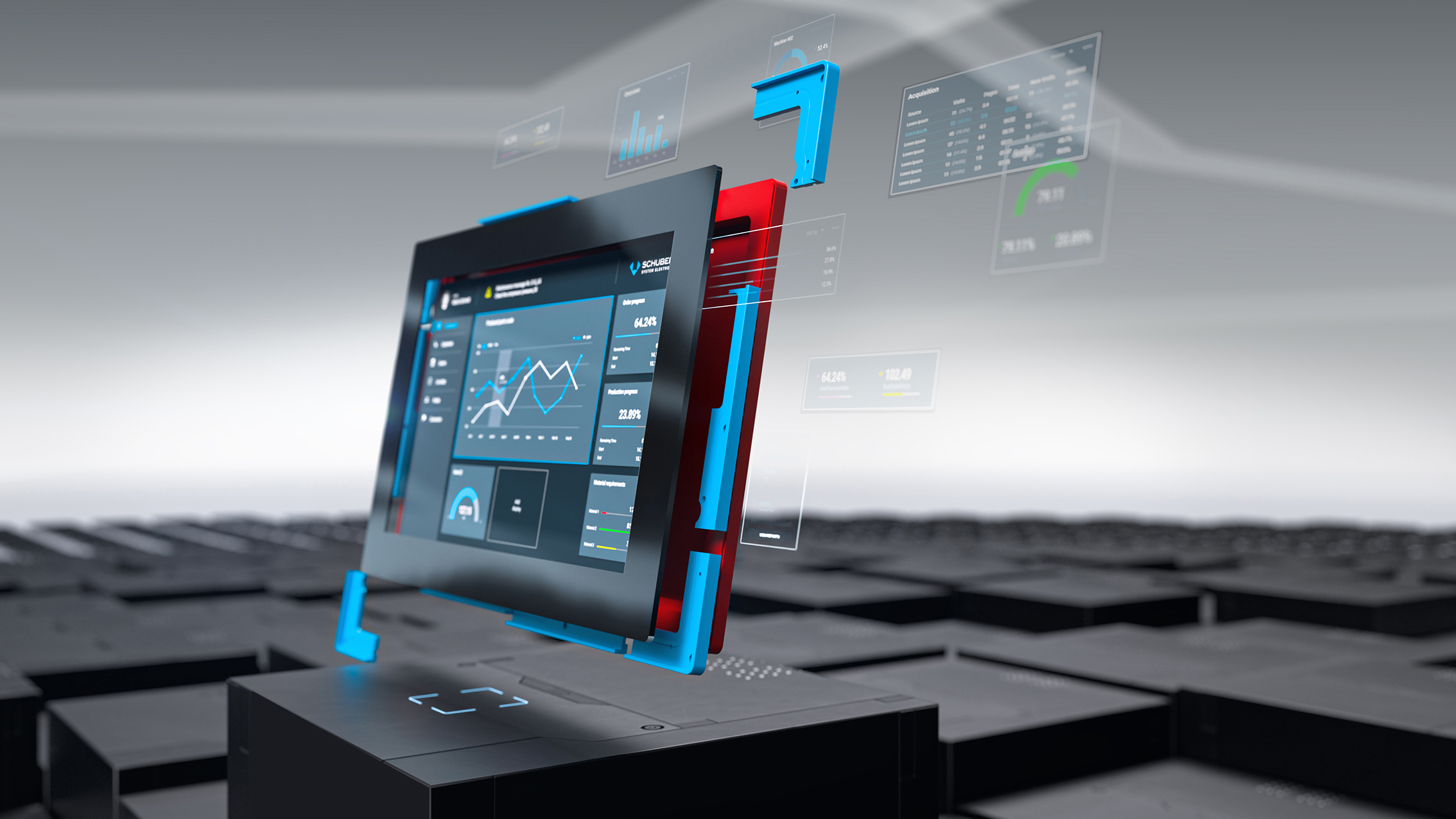 Sensornahe Edge-Lösungen ermöglichen prozessnahe Analyse und Weiterverarbeitung von Daten, z.B.fürdievorausschauende Wartung (Predictive Maintenance)und Qualitätssicherung. (Bild: Schubert System Elektronik GmbH)