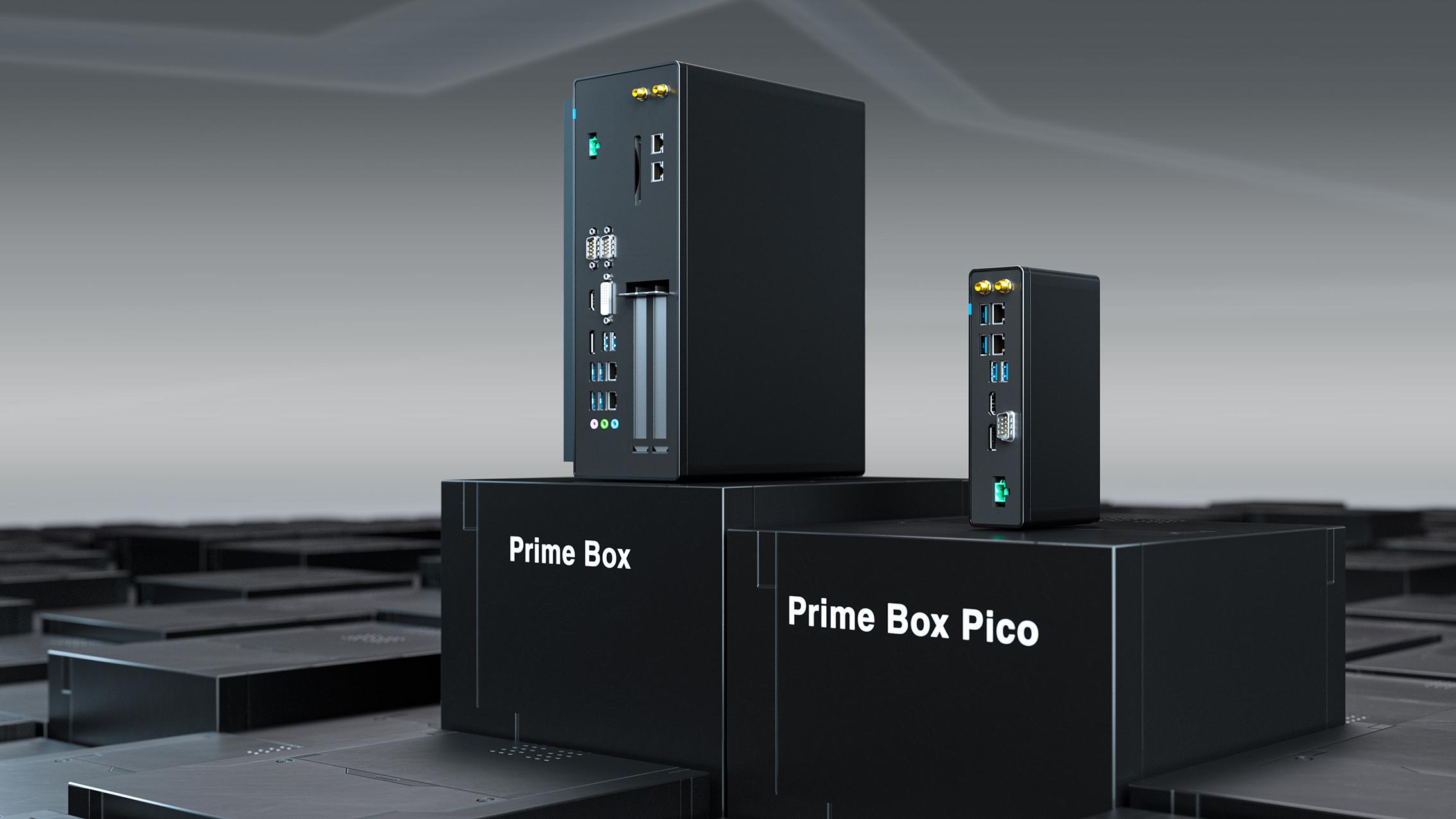 Die industriellen Prime Box-PCs von Schubert System Elektronik sind für verschiedene Applikationen konfigurierbar und zudem Edge Computing fähig. (Bild: Schubert System Elektronik GmbH)