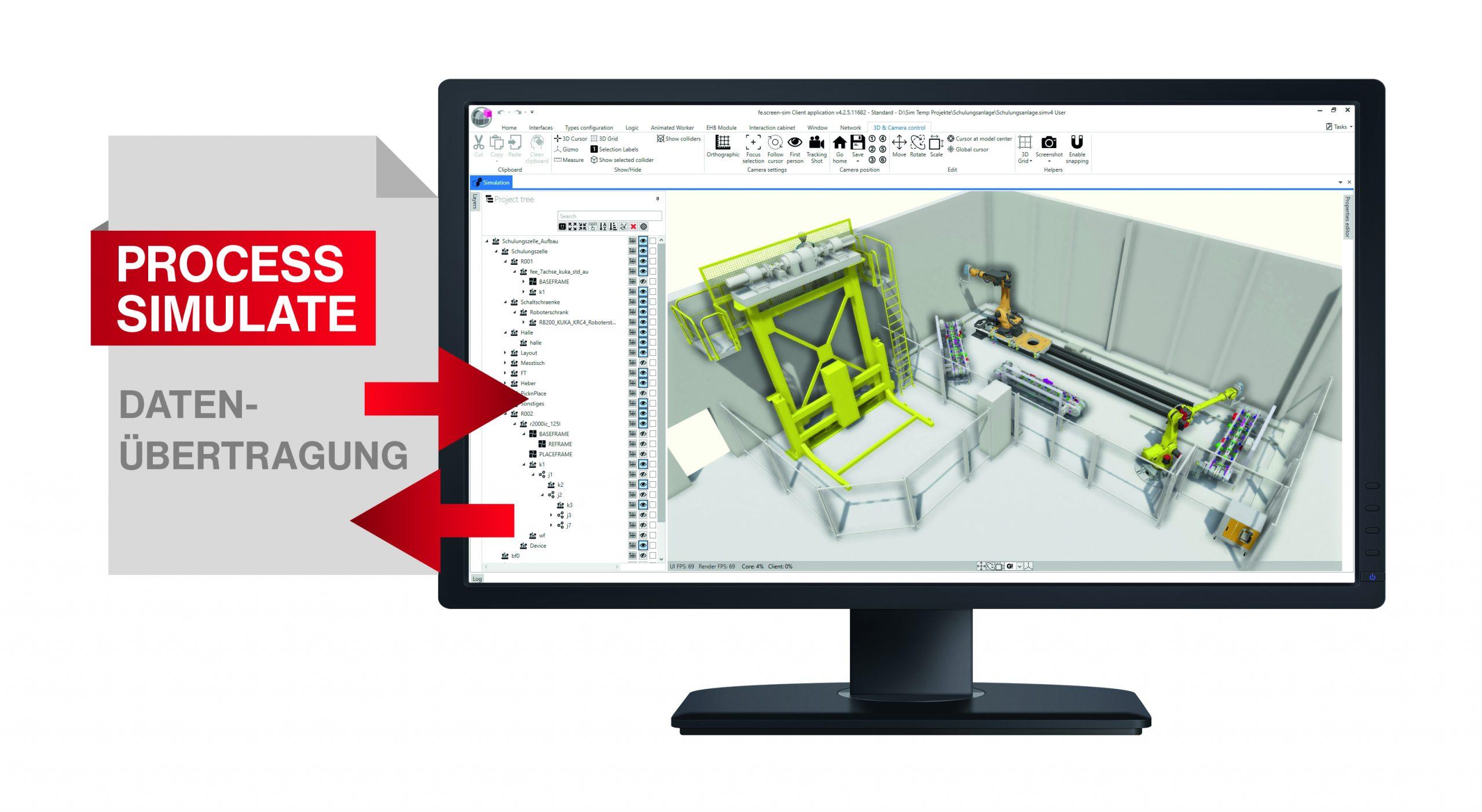 Um Daten durchgängig zur Modellerstellung zu nutzen, muss flexibler Umgang mit Datenquellen und -strukturen möglich sein.(Bild: F.EE Industrieautomation GmbH & Co. KG)